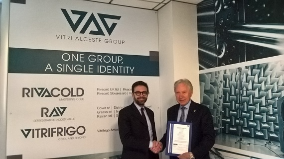RIVACOLD ACHIEVES ISO 9001: 2015 CERTIFICATION
