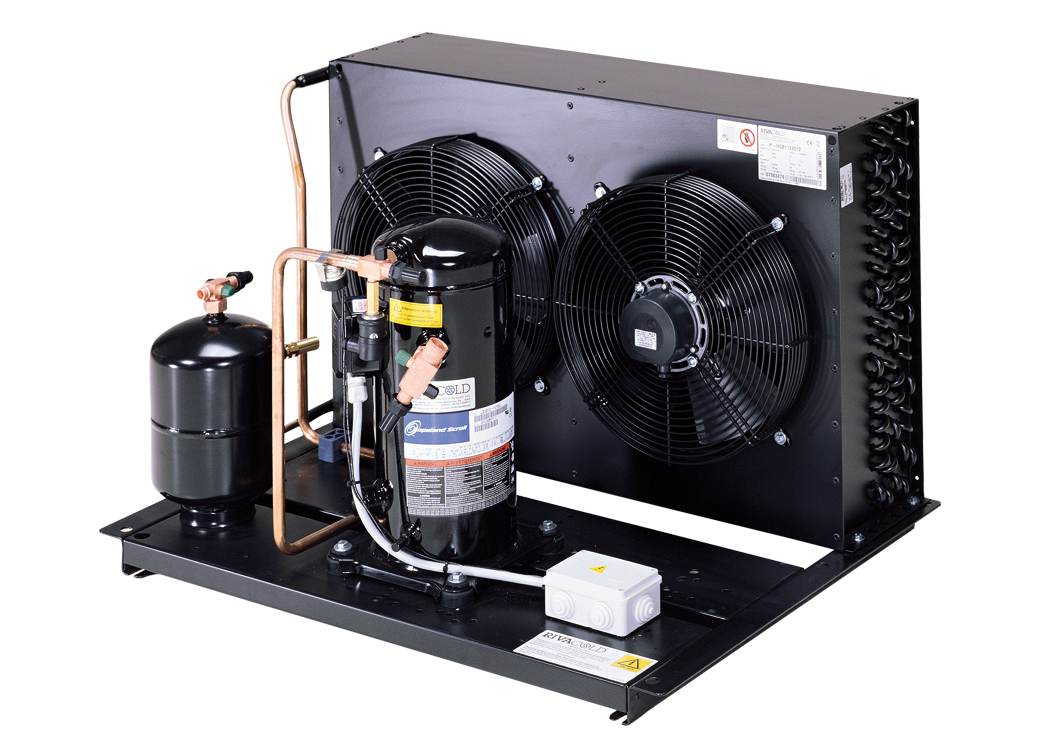 Condensing units with scroll compressors