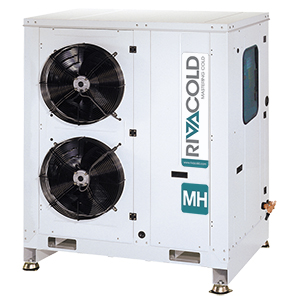 MH2_C -mini-packs with  2 scroll compressors and built-in condenser
