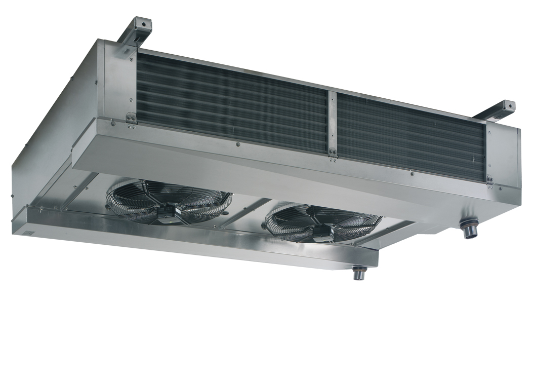 Ceiling evaporators -dual flow - riffled tube RDFR 500