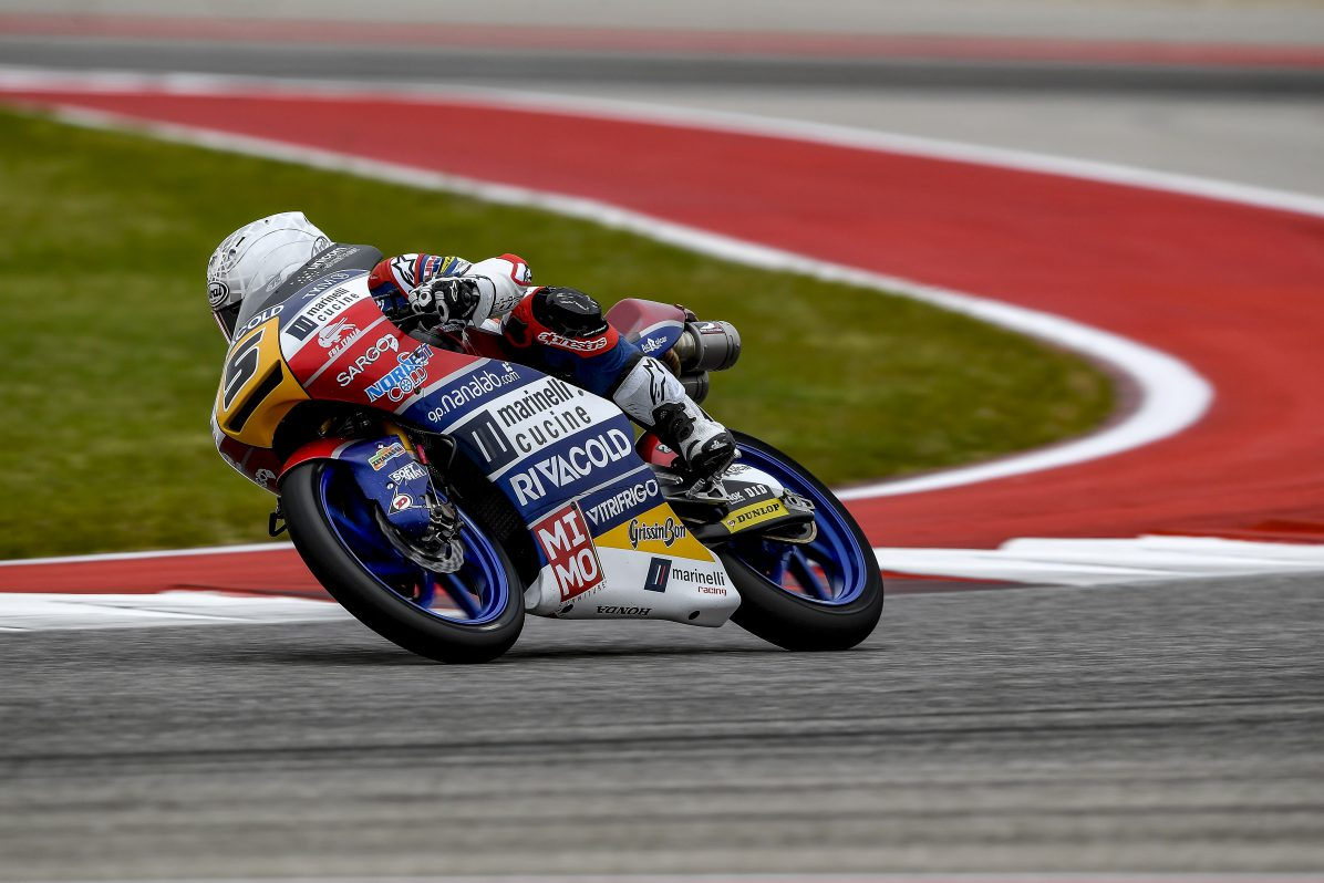 Gran Prix of the America: Fenati