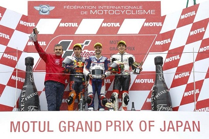 Fenati King of the Rain, another victory in Gran Prix of Japan