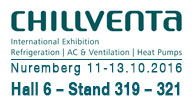 Chillventa - the exhibition for energy efficiency, heat pumps and refrigeration